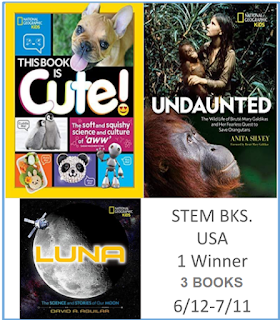 National Geographic Kid's STEM books