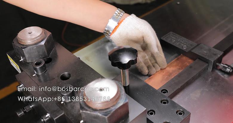 bending machine for busbar
