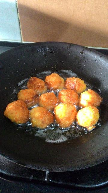 homemade nugget ayam