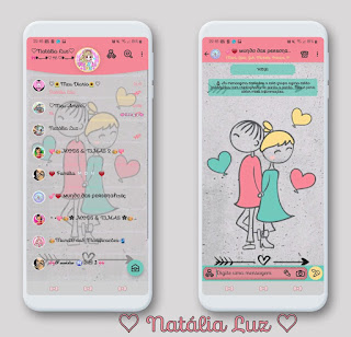 Love Cutte Theme For YOWhatsApp & Aero WhatsApp By Natalia Luz