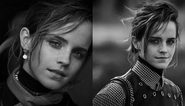 Emma Watson está incrível nas fotos para Interview além de uma entrevista sobre Harry Potter e o interesse do mundo na sua vida privada