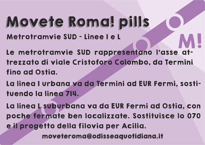 Movète Roma Pillola numero 18: le metrotramvie sud
