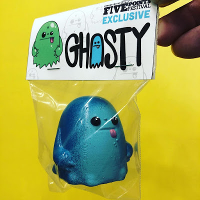 Five Points Festival 2019 Exclusive Ghosty Resin Figure by Nicky Davis