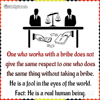 Bribe Quote