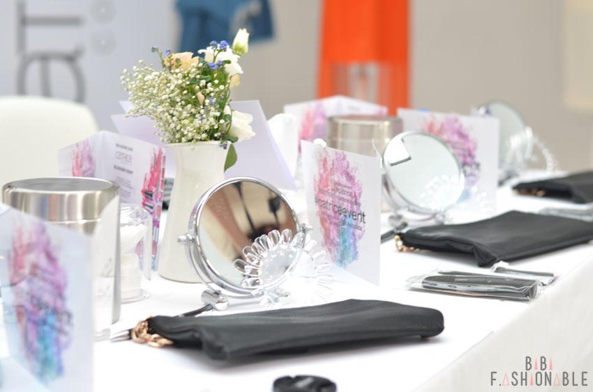 Catrice Event München SS 2016 Tisch
