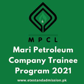 Mari Petroleum Trainee Program 2021