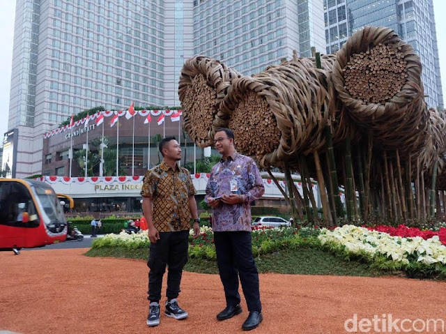 5 Fakta Proyek 'Bambu Getah Getih' Habiskan Rp 550 Juta, Belum Setahun Dibongkar
