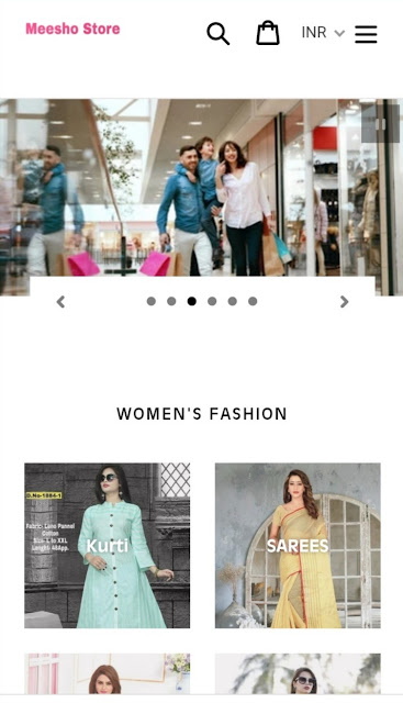Meesho,meeshostore.com,meeshostore e-commerce website duniyajeet.com
