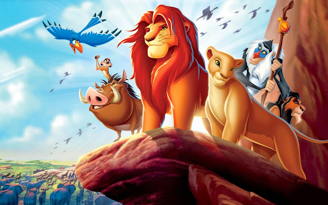 Wallpaper Lion King