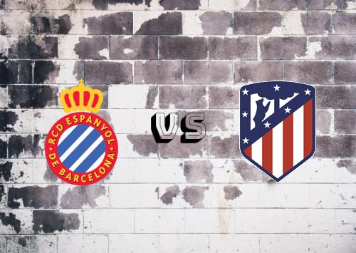 Espanyol vs Atlético Madrid  Resumen