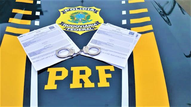Homem foragido da justiça é preso pela Polícia Rodoviária Federal em Barreiras