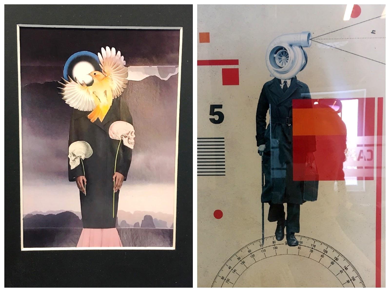 International Collage Art Exhibition by Retroavangarda 2019