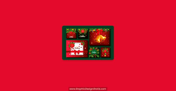 Manualidades ▷ Tarjetas para Navidad GRATIS 【 2020 】