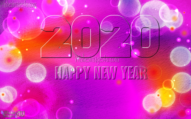 Happy New Year 2020 Full HD  Sparkling  Pics For Desktop