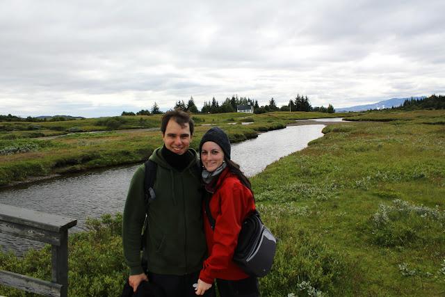 El río Öxará a su paso por Þingvellir