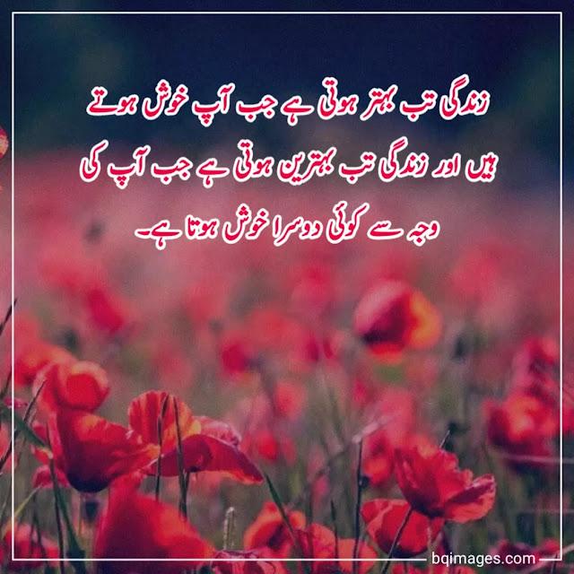zindagi k quotes in urdu