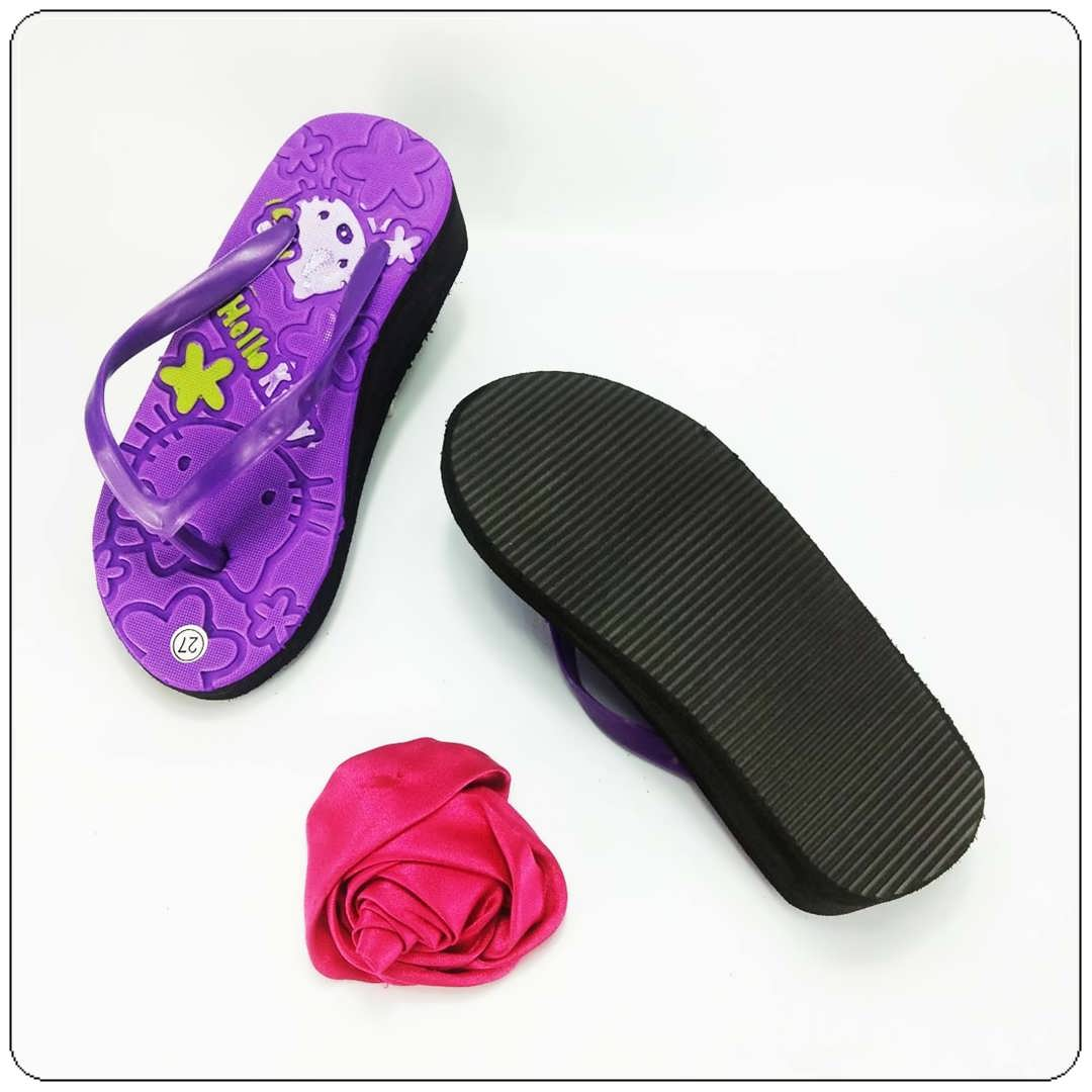 Sandal Spon Hak Tebal Anak  || Sandal Anak Terlaris & Termurah