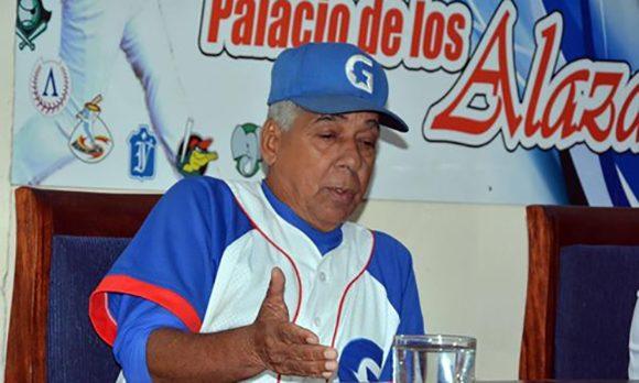 """El manager cubano ademas sentenció: """"No voy al terreno a inventar, en el béisbol ya está todo inventado."""""""