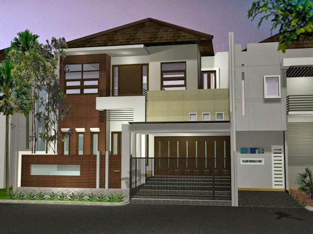 simple 2 storey minimalist house design