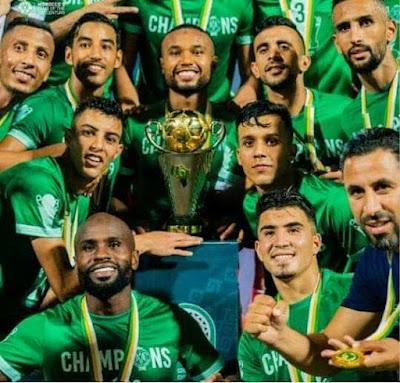 بعد الفوز بكأس محمد السادس ..جلالة الملك يهنئ مكونات الرجاء البيضاوي