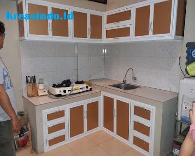 Jasa Kitchen Set Aluminium ACP Rangka Aluminium di Jakarta ...