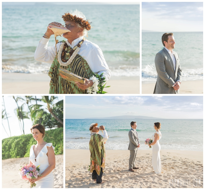 Maui Beach Elopement Photography