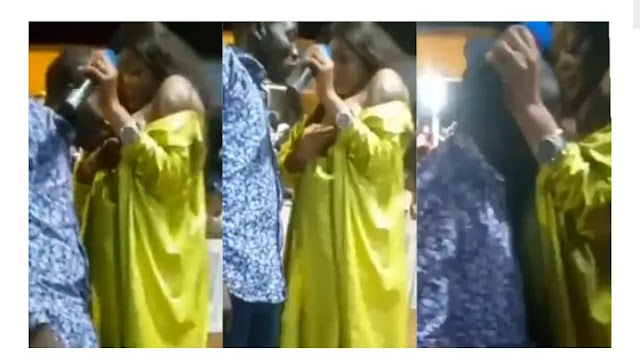Ghanaian pastor giving holy breast milk to congregants photo and video