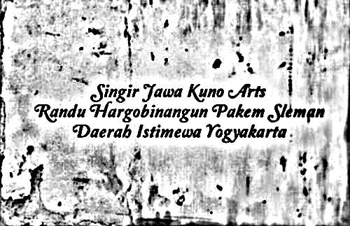 Epic travelers - Singir Jawa Kuno or Singir Java-Ancient