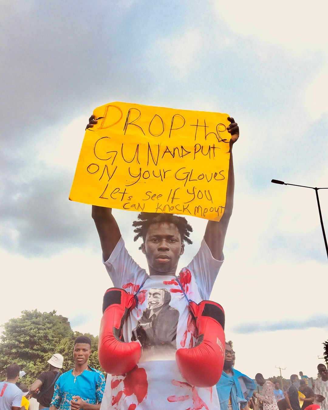Nigerians Demand an End to Police Squad Known as SARS