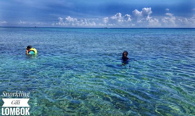 Snorkling At Gili Trawangan