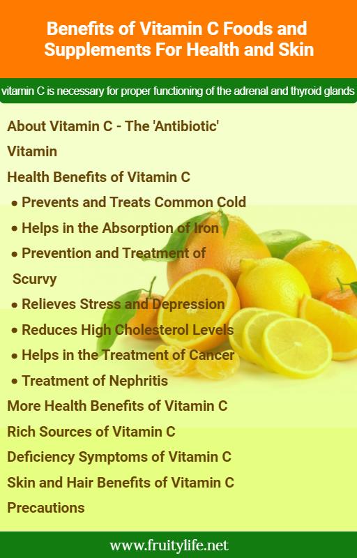 c vitamin depression