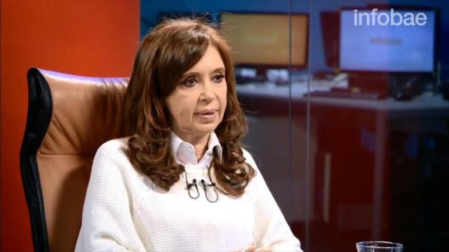 Cristina Fernández: Si en Venezuela hay presos políticos, en Argentina también