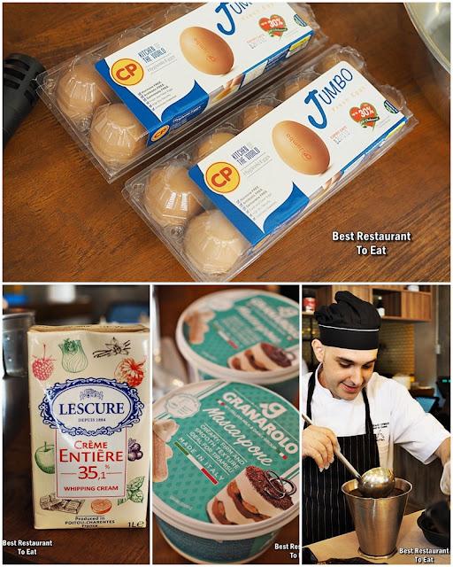 PASSIONE RISTORANTE ITALIANO Tiramisu Recipe