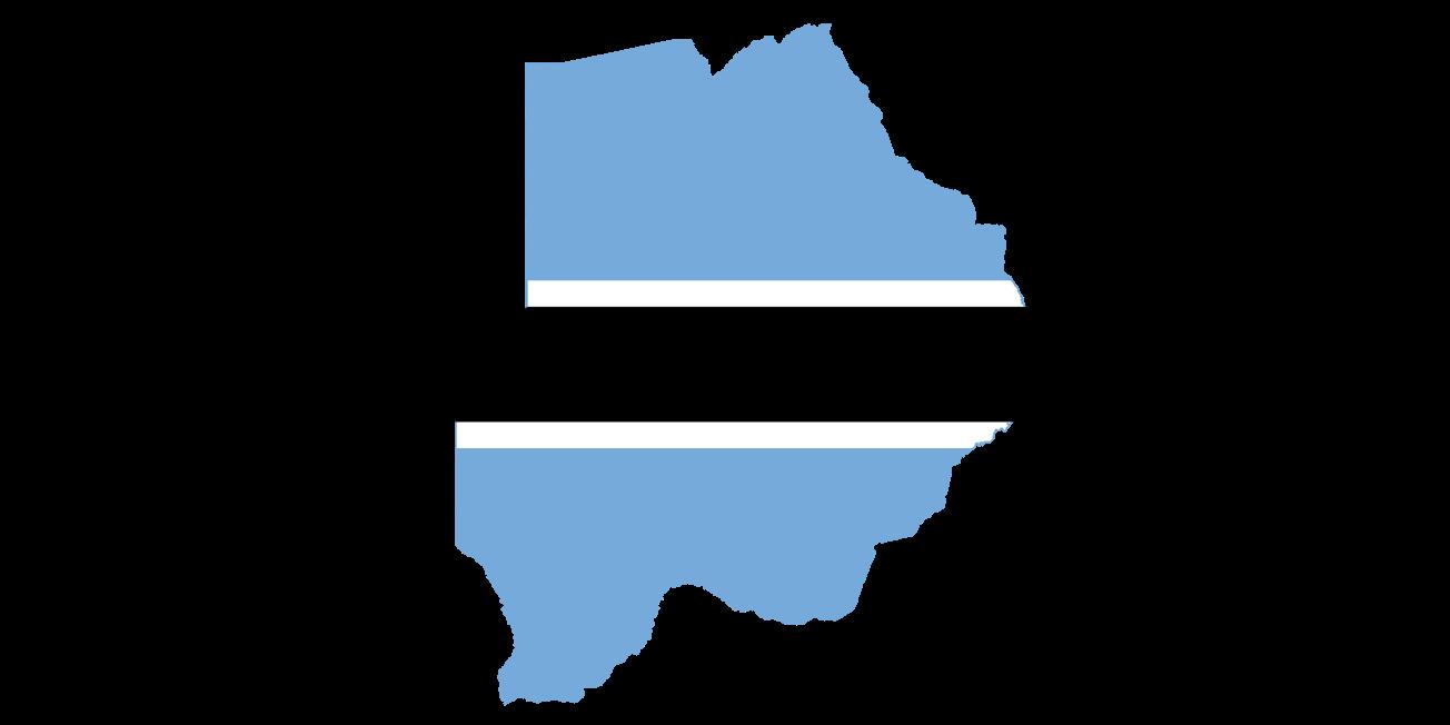 Download Free Botswana ArcGIS Shapefile Map Layers