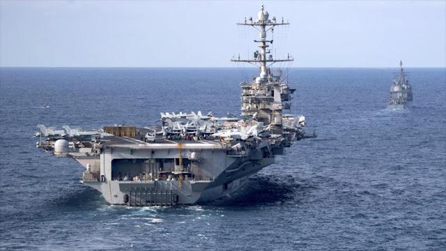 Sale portaviones estadounidense Harry S.Truman de Asia Occidental