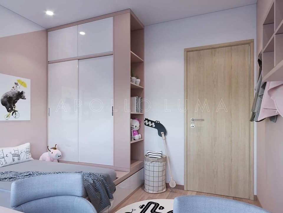 Thiết kế nội thất căn hộ 2 phòng ngủ Vinhomes Grand Park Quận 9