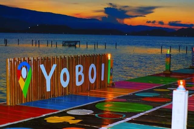 Indahnya Pemandangan Di Kampung Yoboi - Kab.Jayapura