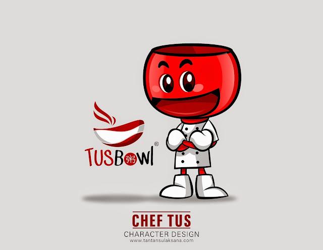 Tusbowl Mascot Design