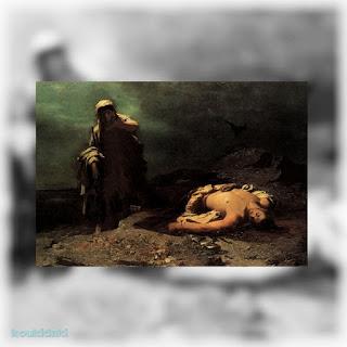 Νικηφόρου Λύτρα (Η Αντιγόνη εμπρός στον νεκρό Πολυνείκη, 1865, Εθνική Πινακοθήκη Ελλάδας)