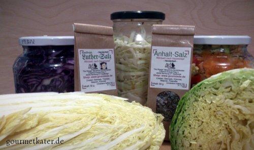 Sauerkraut,Kimchi