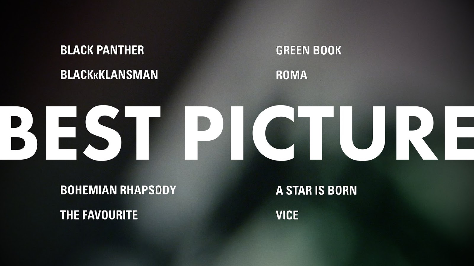 Oscars 2019: 91st Academy Awards nominations | The Gold