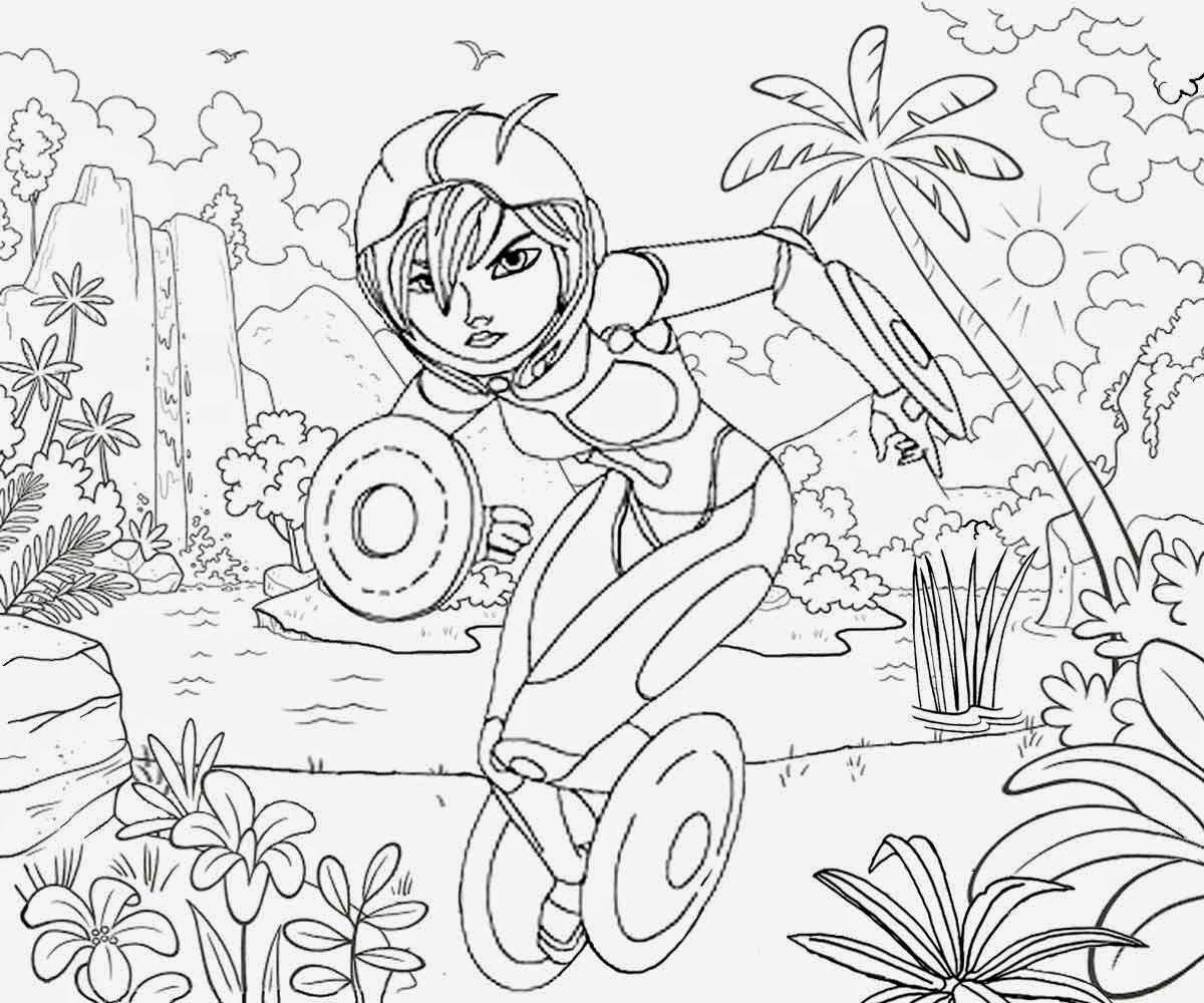 fantasy coloring pages for teens - photo#23