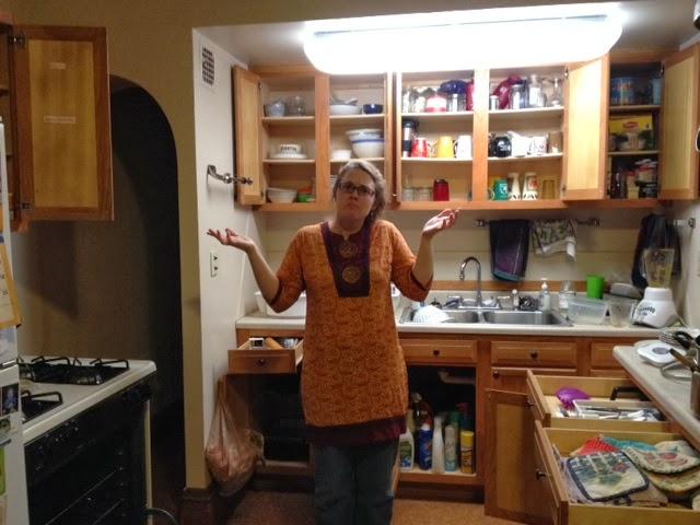 Sixth Sense Kitchen Cabinet Scene