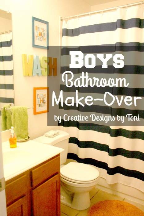 Is Your Bathroom Needing A Bit Of An Update? Ours Is For Sure. Being The  Mom Of Two Young Boys, Bathroom Etiquette And Neatness Flies Right Out The  Window.