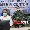 Video Conference Bupati, Danrem 141/TP, Kapolres Bersama Dandim 1405/Mlts, di Kab. Barru