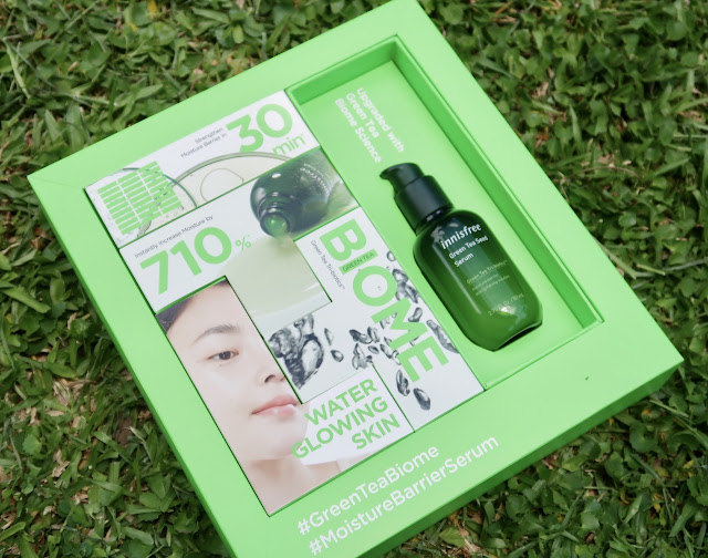 Innisfree NEW Green Tea Seed Serum Biome Review morena filipina beauty blog The Key To Lesser Maskne Frequency + Innisfree NEW Green Tea Seed Serum Biome Review