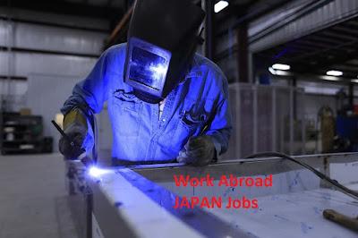 Job visa engineering bidang welder (pengelasan)