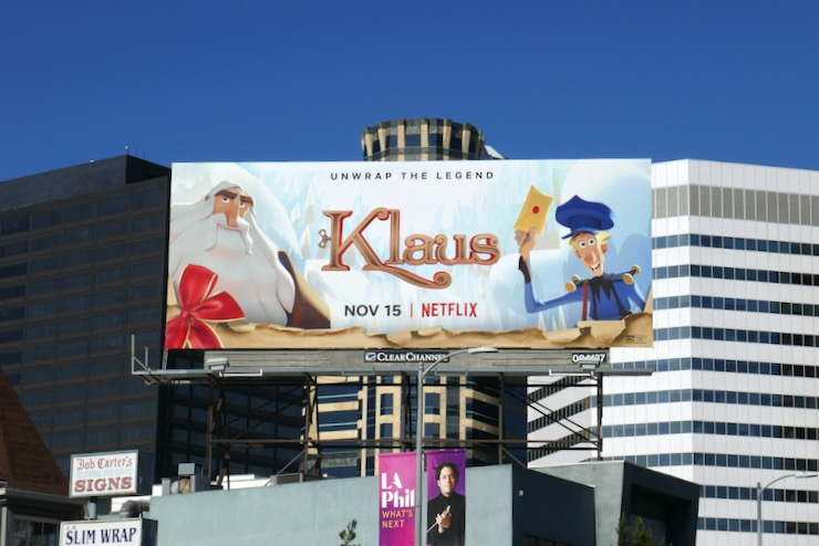 Klaus film billboard