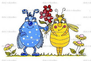 Dots N Doodles Creative Tuesdays Lovebugs