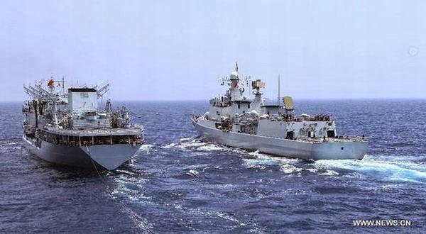Gambar Armada Kapal Perang China Di Laut China Selatan